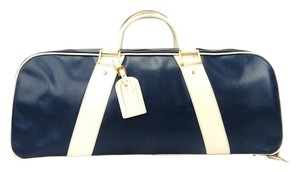 Fendi Sports Vintage Italy Blue Travel Bag