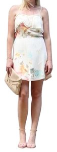 Aritzia short dress Floral Wilfred Silk on Tradesy