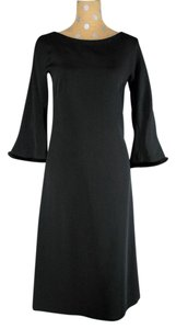 Escada Mink Silk Evening Dress