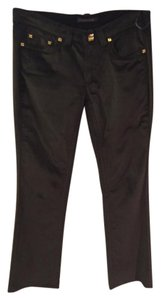 Roberto Cavalli Flare Pants Dark brown