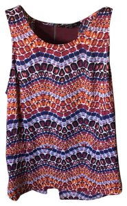 Sam Edelman Top Purple, Blue, Orange, Maroon