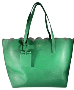Kate Spade Carrigan Lily Ave Tote in Kiwi Green