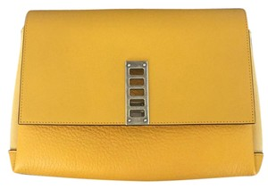 Proenza Schouler Leather New Unique Yellow Clutch