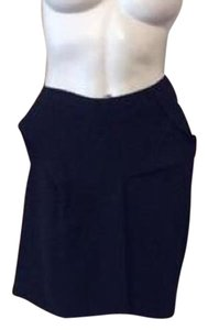 Roland Mouret Mini Skirt Black