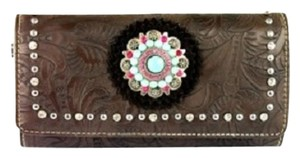 Montana West MW305-W002 Montana West Concho Collection Wallet