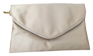 J.Crew Envelope Champagne Clutch