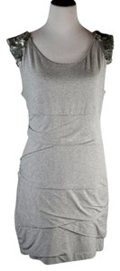 Cynthia Steffe short dress Gray Sequin Detail New Without Tags on Tradesy