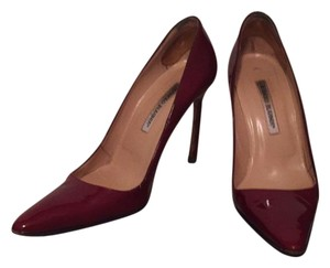 Jimmy Choo Red burgundy patent leather Pumps