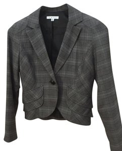 CAbi Gray plaid Blazer