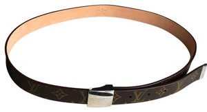Louis Vuitton Mens Monogram Belt