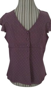 Nine & Co. Top Plum
