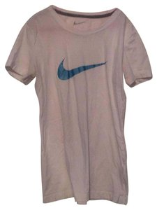Nike T Shirt White with Blue