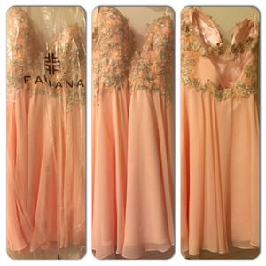 Faviana Light Pink Faviana Bridesmaid Dress Dress