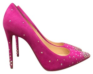 Christian Louboutin Degrastrass Indian Rose Strass Stiletto pink Pumps