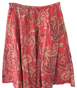 Liz Claiborne Skirt Red, white, blue