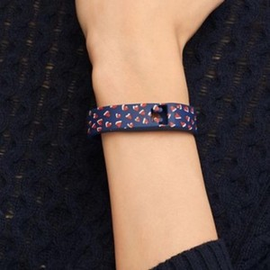 Tory Burch Silicone Printed Bracelet Tb For Fitbit xs/s