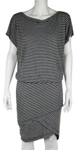 Robert Rodriguez short dress Black Stripes Batwing Fitted Roberto on Tradesy