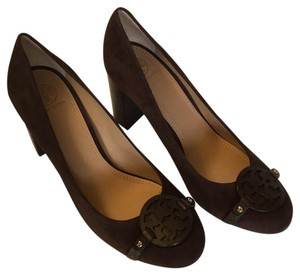 Tory Burch Coconut/Brown Pumps