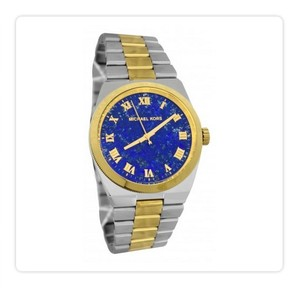 Michael Kors MICHAEL KORS CHANNING LAPIS DIAL TWO TONE STEEL BRACELET WOMEN WATCH