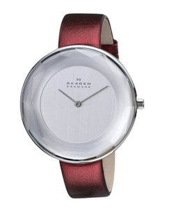 Skagen Denmark Skagen Women's SKW2273 Gitte Analog Display Analog Quartz Red Watch