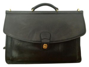 Coach Leather Briefcase Laptop Bag