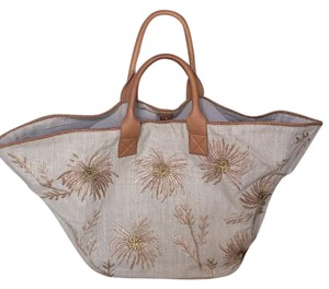Anthropologie Tote in Taupe/tan