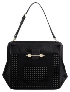 Jason Wu Studded Calf Hair Chic Shoulder Bag