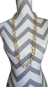 Betsey Johnson Betsey Johnson Textured Round-Link Necklace