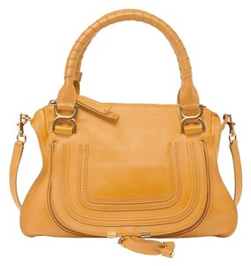 Chloé Satchel in Curry Yellow