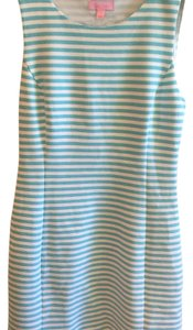 Lilly Pulitzer short dress Blue and white stripe on Tradesy