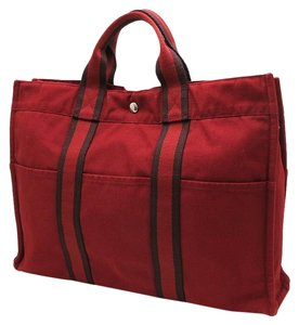 Hermès Hermes Hermes Tote in red