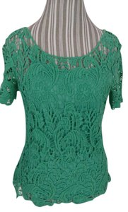 Adiva Top Emerald green