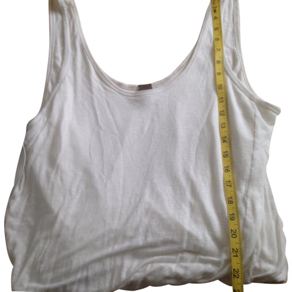 c36a30a1c1f642 Free People White Tank Top Cami Size 4 (S) - Tradesy