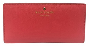Kate Spade New Kate Spade Mikas Pond Stacy Wallet Geranium Red