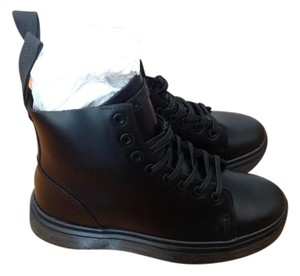 Dr. Martens Leather Black Boots