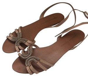 Badgley Mischka Nude Sandals