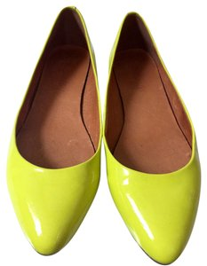 Madewell Yellow Flats