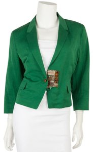 Dries van Noten Green Blazer