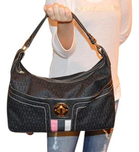 Tommy Hilfiger Logo Tote in Black
