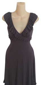 Cynthia Rowley short dress Steel gray on Tradesy