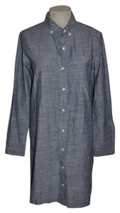 Banana Republic short dress Blue Shirt Chambray on Tradesy