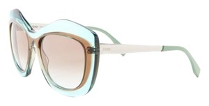 Fendi FENDI Women's Color Block Oversize Cat Eye Sunglasses