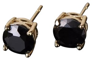 Other New Black Swarovski Crystal and Yellow Fold Filled Earrings
