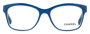 Chanel Chanel Camelia Eye Glasses CH3255 (Crtis Top Blue)