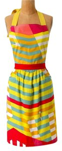 Anthropologie Multi-color Spectrum Apron Other