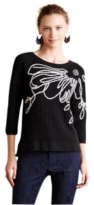 Field Flower by Wendi Reed Embroidered Anthropologie Sweater