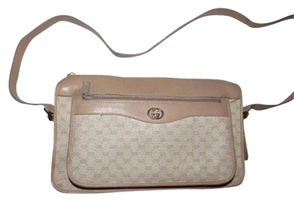 c898864e354a Gucci Shoulder/Cross Gold Hardware Perfect Everyday Roomy With Pockets  Unique Color Combo Cross Body ...