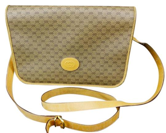 Preload https://img-static.tradesy.com/item/17805109/gucci-vintage-pursesdesigner-purses-camel-with-dark-brown-small-g-logo-print-coated-canvas-and-camel-0-2-540-540.jpg