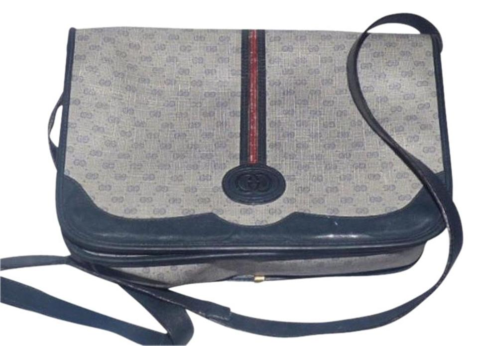 f3d4cd013e93 Gucci Shoulder/Cross Body Gold Hardware Popular Style Perfect Everyday  Shades Of blues with small ...