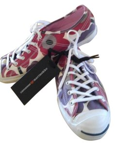 Converse Marimekko Jack Purcell red purple white Athletic